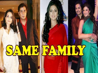 Top 5 Television Celebs who are from the same family